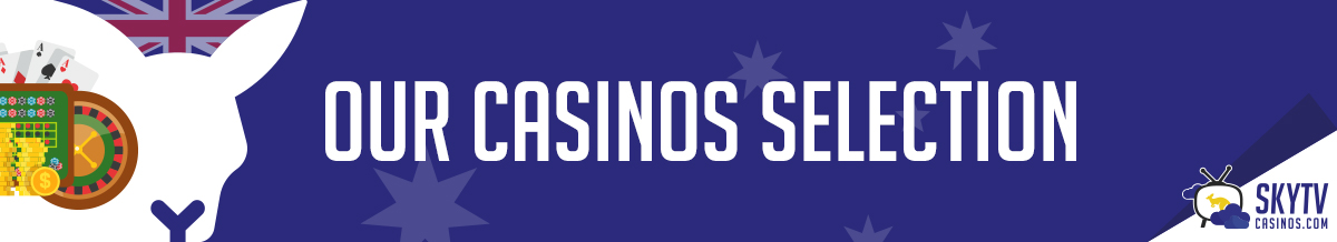 banner casinos selection