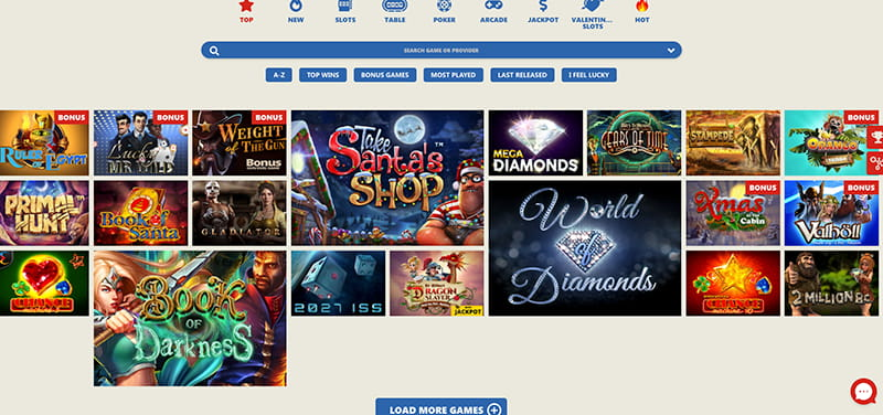 slotohit casino games section