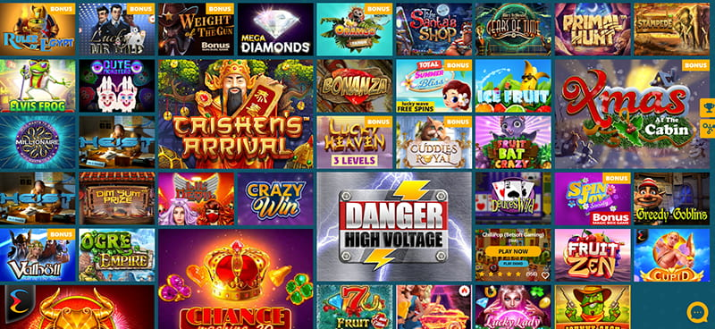 spinaru casino games section
