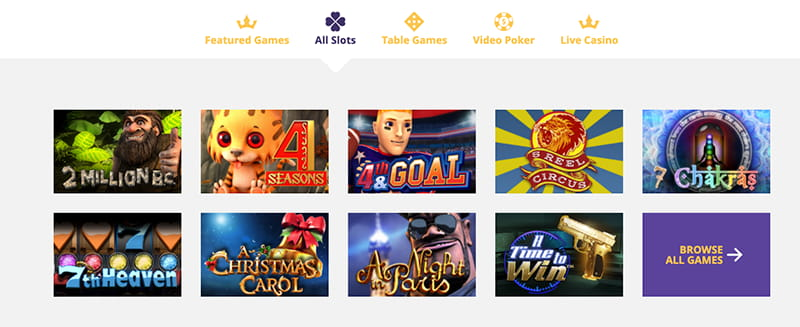 vip slots screenshot games